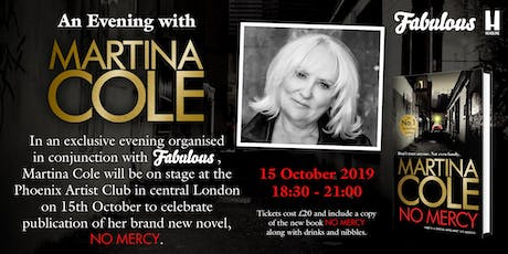 An Evening with Martina Cole in conjunction with FABULOUS tickets