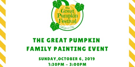 The Great Pumpkin Family Painting Event tickets