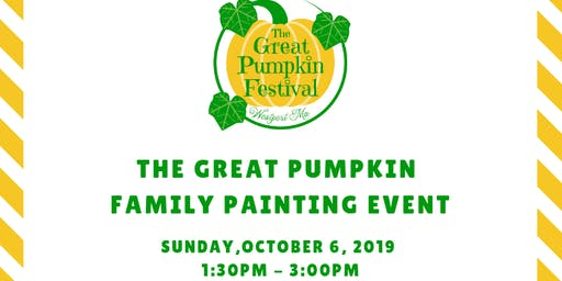 The Great Pumpkin Family Painting Event