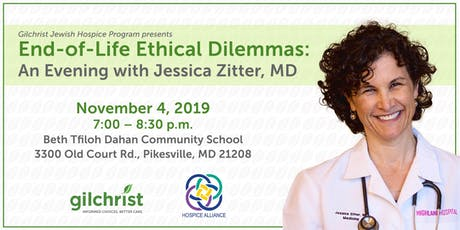 End-of-Life Ethical Dilemmas: An Evening with Dr. Jessica Zitter tickets