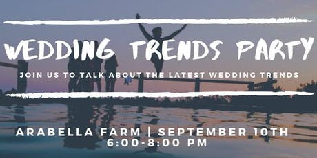 Wedding Trends Party tickets