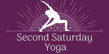 Rooftop Yoga - Second Saturday Yoga tickets