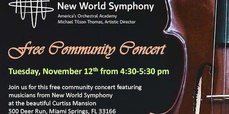 Community Concert w/ New World Symphony tickets