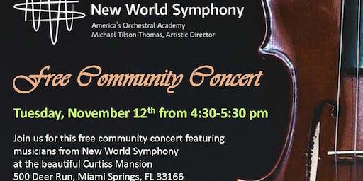 Community Concert w/ New World Symphony