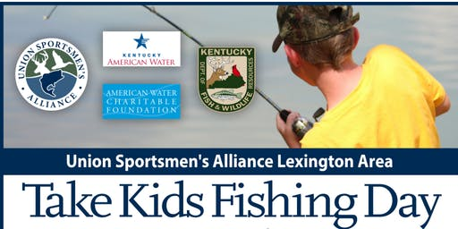 Lexington Kentucky Take Kids Fishing