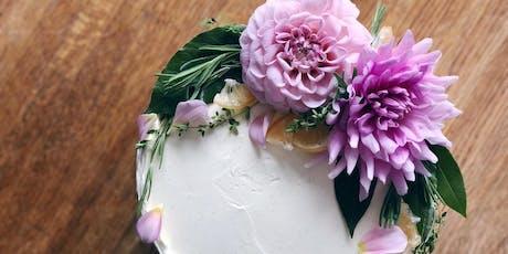 Fresh Flower Cake Decorating Workshop tickets