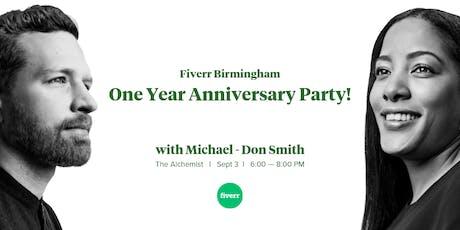 Fiverr Birmingham: One Year Anniversary Party! tickets