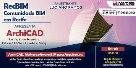 RecBIM Comunidade BIM em Recife - ArchiCAD ingressos