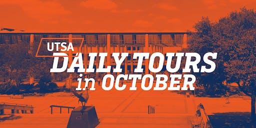 UTSA Daily Tours - October 2019