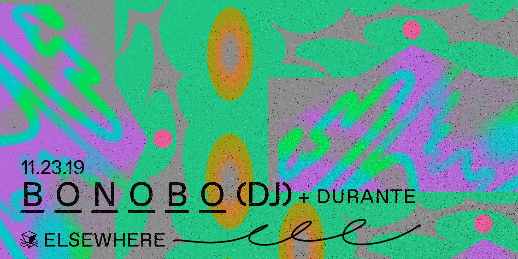 Bonobo (DJ Set), Durante