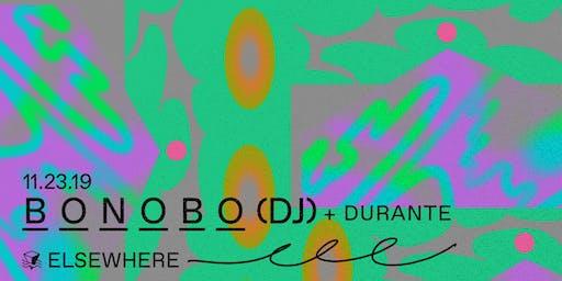 Bonobo (DJ Set), Durante @ Elsewhere (Hall)