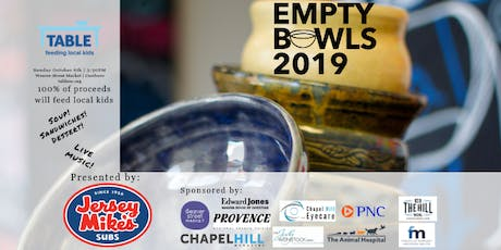 TABLE's 7th Annual Empty Bowls Fundraiser tickets