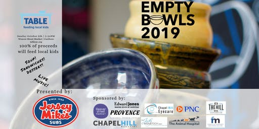TABLE's 7th Annual Empty Bowls Fundraiser