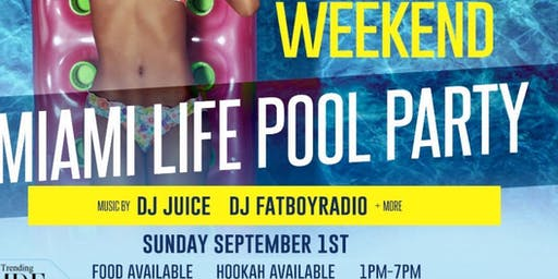 Miami Life Rooftop Pool & Day Party