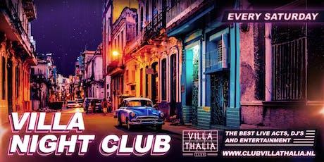 Villa Night Club 21-9 tickets