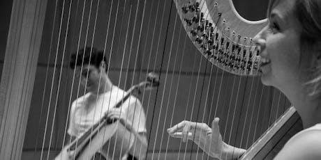 Musical Innovators: TPE and Couloir  (Ariel Barnes – cello and Heidi Krutzen – harp) tickets
