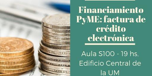 Financiamiento PyME: factura de crédito electrónica