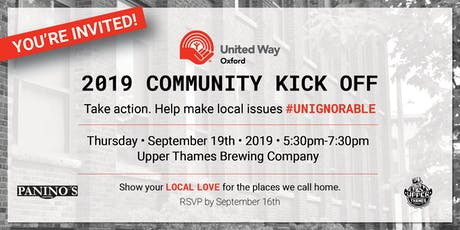 United Way Oxford Community Kickoff 2019 tickets