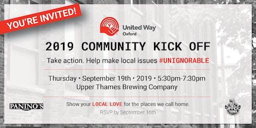 United Way Oxford Community Kickoff 2019