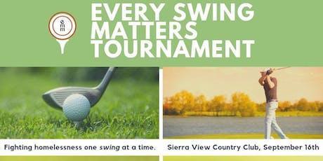 Every Swing Matters Fundraiser Golf Tournament tickets