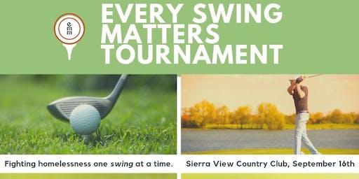 Every Swing Matters Fundraiser Golf Tournament