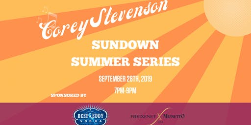 Rooftop Live Music with Corey Stevenson