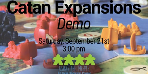 Catan Expansions Demo