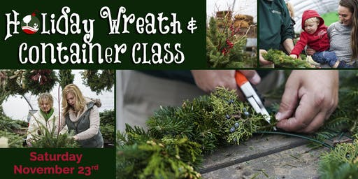 Holiday Wreath and Container Class