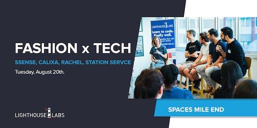 Fashion & Tech: SSENSE, Calixa, From Rachel, Station Service