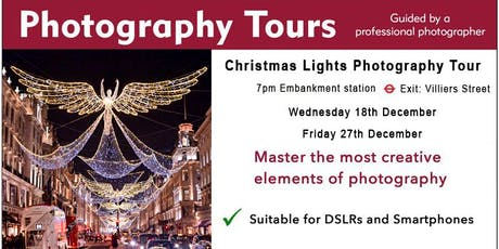 Christmas Lights Photography Tour tickets