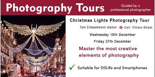 Christmas Lights Photography Tour