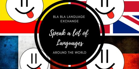 Bla Bla Language Exchange billets