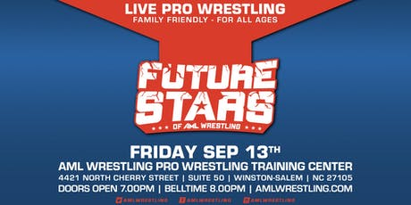 Future Stars of AML Wrestling/September 2019 tickets