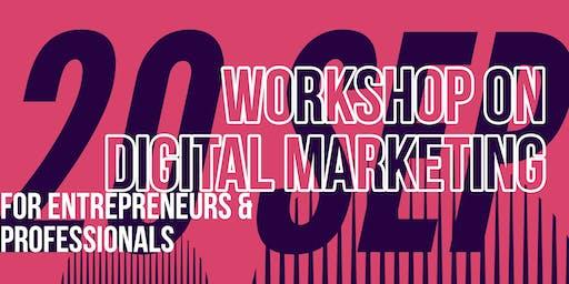 Digital Marketing Hands on Workshop for professionals and entrepreneurs V1.2 ( Drogheda edition )