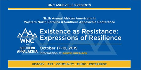 African Americans in WNC & Southern Appalachia Conference tickets