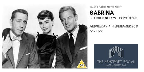 Sabrina B&W movie tickets