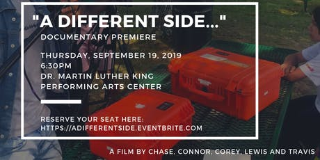 """A Different Side..."" Documentary Premiere tickets"