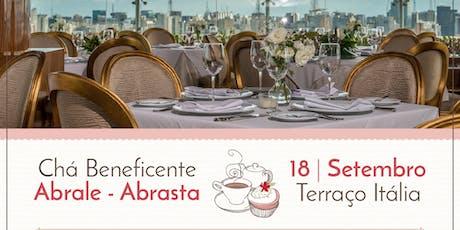Chá Beneficente Abrale Abrasta - Terraço Itália ingressos