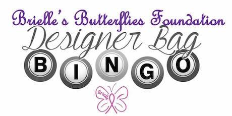 Brielle's Butterflies Foundation Designer Bag BINGO tickets
