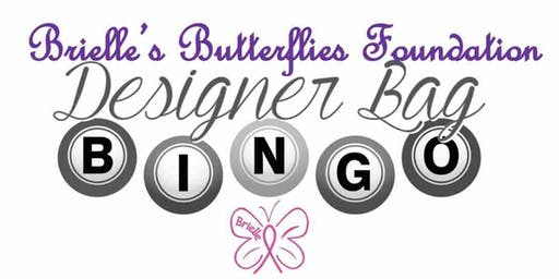 Brielle's Butterflies Foundation Designer Bag BINGO