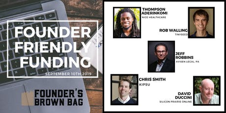 Founder Friendly Funding - Founders Brown Bag tickets