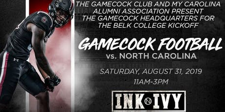 Official Gamecock Tailgate vs. UNC! tickets