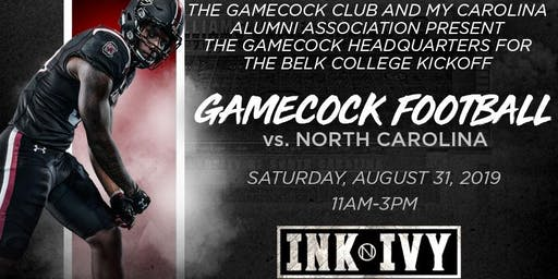 Official Gamecock Tailgate vs. UNC!