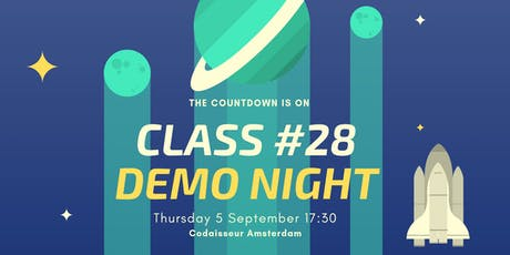 Codaisseur Graduation and Demo Night - Class #28 tickets