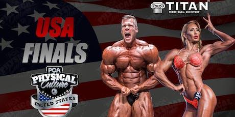 PCA USA Finals tickets