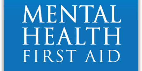 Mental Health First Aid Certificate training tickets