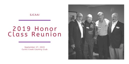 2019 SJCAAI Honor Class Reunion
