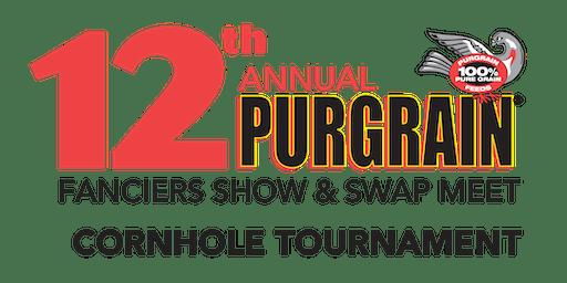 12th Annual Purgrain Pigeon Show Cornhole Tournament