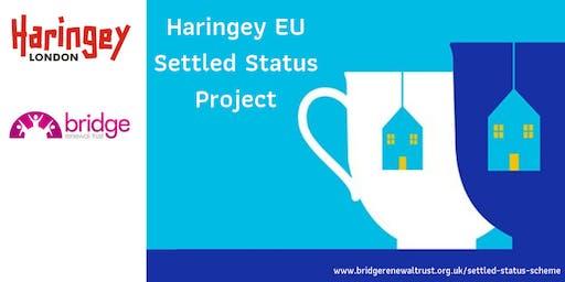 Haringey EU Settled Status Open Day