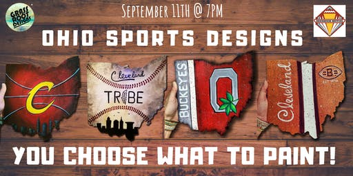Choose Your Ohio Sport| Painting + Brews
